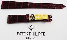 PATEK PHILIPPE Krokodil-Leder-Armband 14/10 mm - ungetragen - Versand nur EU