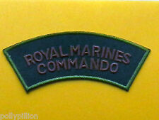 MILITARY SPECIAL FORCES SEW ON / IRON ON PATCH:- ROYAL MARINES COMMANDO