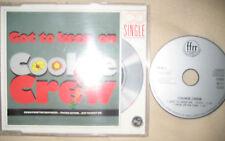 "RARE 3"" Maxi CD The Cookie Crew Got To Keep On  - 3 INCH MCD PWL Eurobeat Italo"
