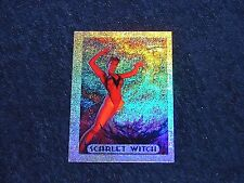 1994 MARVEL MASTERPIECES SCARLET WITCH HOLOFOIL CHASE CARD (MARV1)