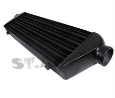"Diy Custom 28"" X 7"" X2.5"" Fmic Tube And Fin Front Mount Turbo Intercooler Black"