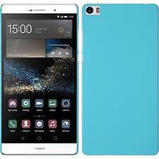 Funda Rígida Huawei P8max - goma azul claro + protector de pantalla