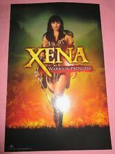 Xena Warrior Princess Tv Show Poster Fan Expo 2018 Lucy Lawless Sam Raimi