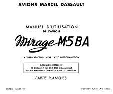 DASSAULT MIRAGE  M5 BA - MANUEL D'UTILISATION