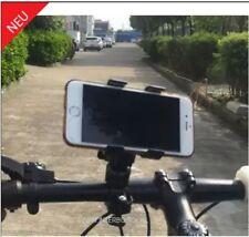 2X Fahrrad Telefon Halter Lenker Clip Stativ Halterung fuer iPhone Mobiltelefon