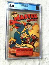 Captain Marvel Jr MASTER COMICS #131 Fawcett Pub. Dec 1952 CGC 6.0 Off-White pgs