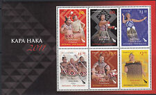 NEW ZEALAND :2011 Kapa Haka miniature sheet SG MS3265 MNH