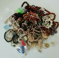 VINTAGE Mixed Bundle Jewellery Necklaces Accessories 1.5KG Resell Wear Job Lot