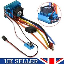 120A Brushless ESC Speed Controller parte para 1/10 1/8 RC Coche Carro Barco Modelo Reino Unido