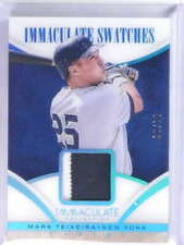 2014 Panini Immaculate Swatches Mark Teixeira Patch #D25/25 #4 *75515