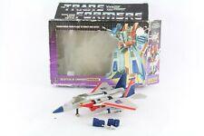 Transformers G1 Starscream Seeker Boxed Vintage