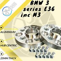 5x120 72.5 25mm Hubcentric Wheels Spacers 1 pair to fit BMW 3 series E36 inc M3