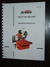 Sunnen Rod Hone LBA-666 Instruction Manual