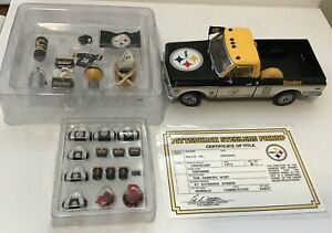Danbury Mint 1972 Chevy 1:24 Pittsburgh Steelers & Tailgating Accessories Box