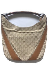 Gucci Handbag Purse Hobo Bag Guccissima Sherryline Shoulder Leather Vintage RARE