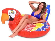 GoFloats Tropical Parrot Party Tube Inflatable Pool Float
