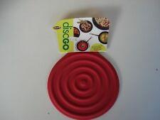 Rojo y verde Conven X4F6 Colador Infusor de te de silicona de diseno de fresa