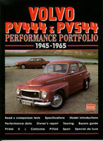 Volvo Pv444 & Pv544 1945-1965 Road Test Performance Portfolio  Book