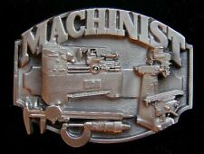 Buckle Nice! Buckles Machinist Solid Pewter Belt