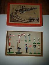 Modelleisenbahn h0 zubehör, Signalzeichen, ddr, Piko, Herr, Sachsenmeister etc.