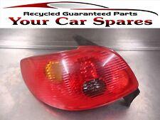 Peugeot 206 Rear Light Assembly Passenger Side Hatchback 03-06