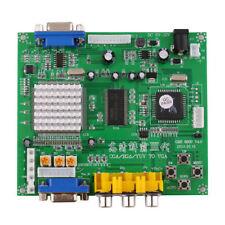 RGB/CGA/EGA/YUV to VGA HD Video Converter Board HD9800/GBS8200 for Arcade Green