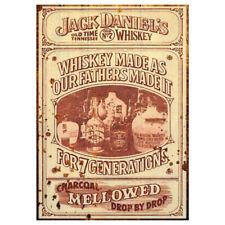Jack Daniels Vintage Sign Beer Classic Vintage Advertising Garden Shed Plaque