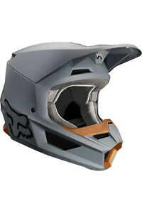 FOX RACING V1 MX HELMET STONE XS