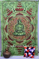 Lord Bouddha Lotus Tapisserie Indien Méditation Bouddha Mur Accrocher Couvre-Lit