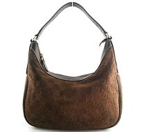 Vintage Gucci Charmy Bag Brown Guccisima Suede Tom Ford