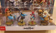 amiibo Zelda Breath of Wild Champions Limited Pack Set REVALI MIPHA JAPAN FS