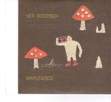 (FT170) Maple Wood, Yeti Boombox - 2009 DJ CD