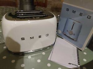 NEW SMEG Retro Style 2 Slice - white