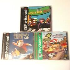 South Park Rally- Stuart Little 2- Team Rocket Rescue-Complete-Tested PS 1 Games