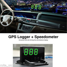 New Car HUD GPS Digital Speedometer Head UP Display Projection Overspeed Alarm