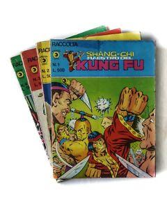 Raccolta SHANG CHI, #1,2,3 e 4 - Editoriale Corno 1978