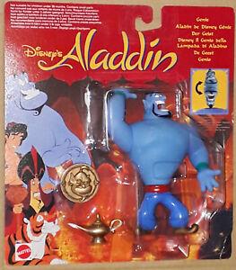 Vintage 1992 Disney Aladdin The GENIE Mattel Action Figure MOSC Robin Williams
