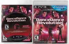 DANCE DANCE REVOLUTION PlayStation 3 PS3 disc, case  and manual