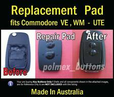 fits Holden Commodore VE UTE remote key - 2 Button Pad (2 sets)