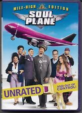 SOUL PLANE movie (dvd, 2004) Snoop Dogg Unrated mile-high edition funny