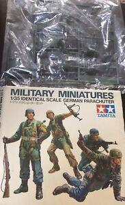 tamiya 1 35 military miniatures German Parachuter