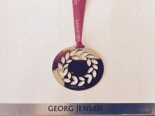 GEORG JENSEN LIMITED EDITION 2016 Christmas WREATH Decoration 24k gold plated