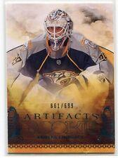 2010-11 Artifacts 217 Anders Lindback Rookie /699
