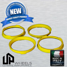 POLYCARBONATE HUB CENTRIC HUBCENTRIC RING RINGS FOR 73.1 - 65.1 VOLVO SAAB CHEVY