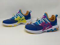 Nike React Presto (GS) Blue Running Shoes, Size 7Y WMNs 8.5 BNIB CK1752-400