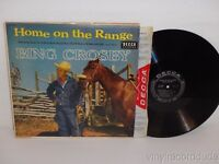 BING CROSBY Home On The Range 1956 Mono LP Decca DL 8210 Andrews Sisters