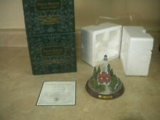 "Thomas Kinkade Seaside Memories Lighted Lighthouse ""Clearing Storms"""