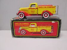 Shell Oil Company 1936 Dodge Tanker Truck Bank by Liberty MIB 72008