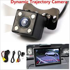 Car Reversing Trajectory Dynamic Tracks Rear View Vehicle Camera IR Night Vision