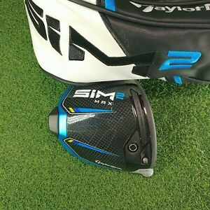 NEW TaylorMade SIM2 Max 10.5* Driver Head Right Handed Head Only 2021 With HC